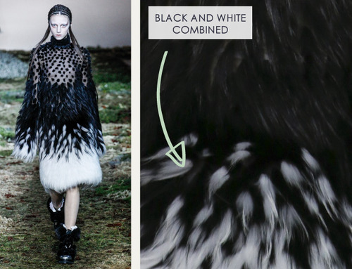 Fairytale Fabrics at Alexander McQueen | The Cutting Class. Alexander McQueen, AW14, Paris, Image 12.