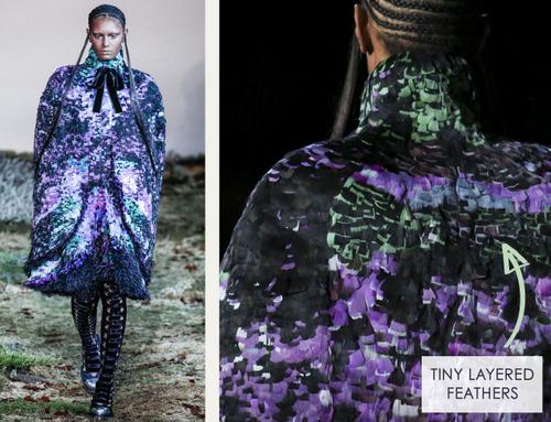 Fairytale Fabrics at Alexander McQueen | The Cutting Class. Alexander McQueen, AW14, Paris, Image 15.