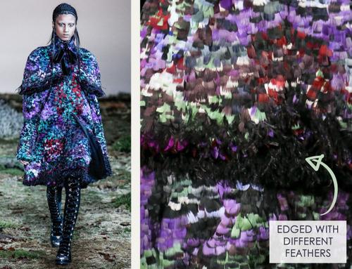Fairytale Fabrics at Alexander McQueen | The Cutting Class. Alexander McQueen, AW14, Paris, Image 16.