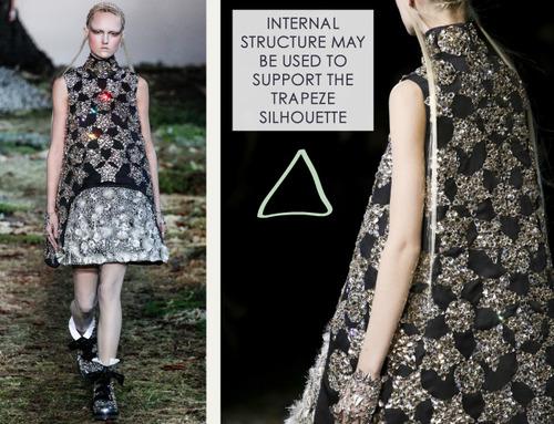 Fairytale Fabrics at Alexander McQueen | The Cutting Class. Alexander McQueen, AW14, Paris, Image 18.