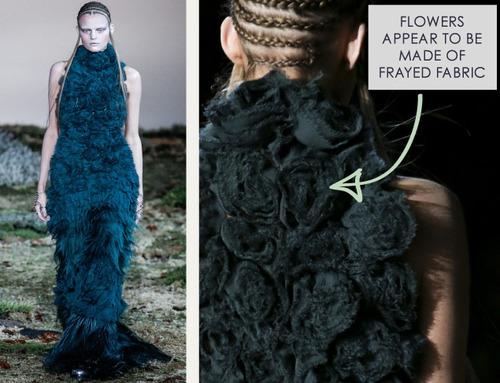 Fairytale Fabrics at Alexander McQueen | The Cutting Class. Alexander McQueen, AW14, Paris, Image 20.