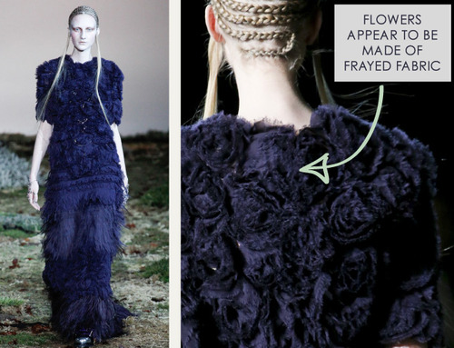 Fairytale Fabrics at Alexander McQueen | The Cutting Class. Alexander McQueen, AW14, Paris, Image 21.