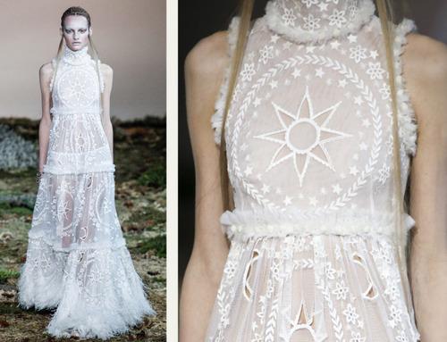 Fairytale Fabrics at Alexander McQueen | The Cutting Class. Alexander McQueen, AW14, Paris, Image 23.