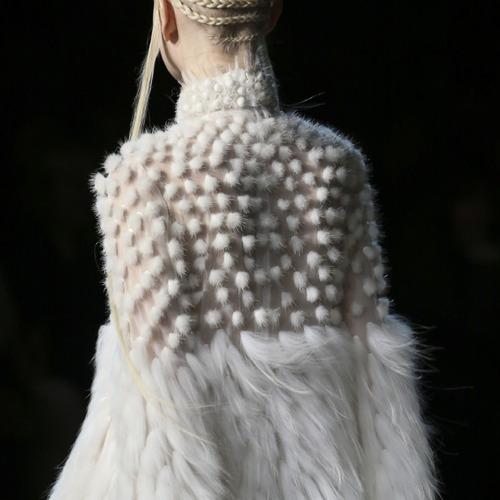 Fairy Tale Fabrics at Alexander McQueen. Alexander McQueen, AW14, Paris.