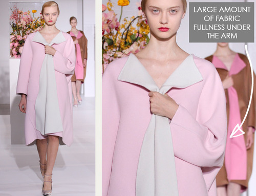 The Fullness and Shaping of Sleeves: Part 2 | The Cutting Class. Jil Sander, AW12, Paris. Image 1.