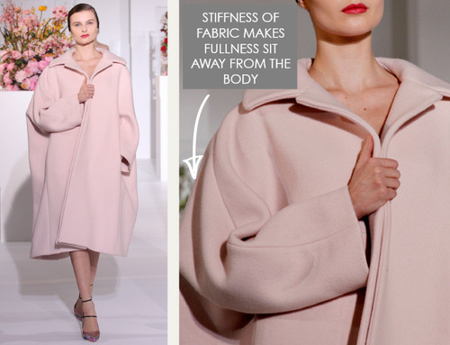 The Fullness and Shaping of Sleeves: Part 2 | The Cutting Class. Jil Sander, AW12, Paris. Image 2.