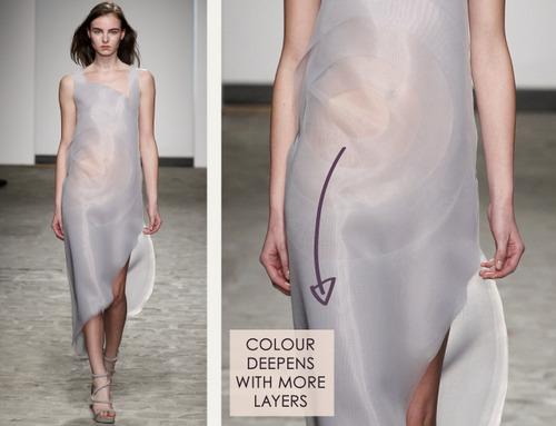 A Nod to Process at Vionnet | The Cutting Class. Vionnet, SS14, Demi-Couture, Paris, Image 3.
