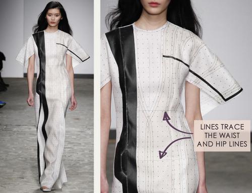 A Nod to Process at Vionnet | The Cutting Class. Vionnet, SS14, Demi-Couture, Paris, Image 12.