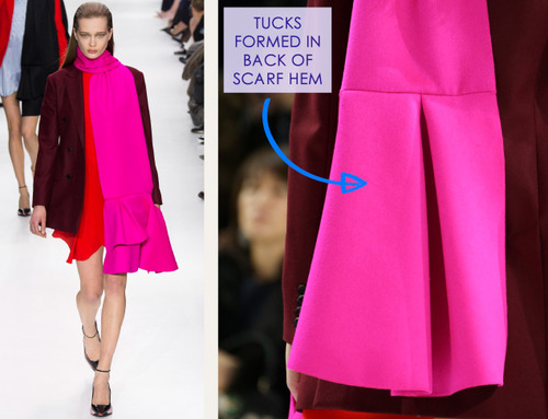 Lacing, Quilting and Tucks at Christian Dior   The Cutting Class. Christian Dior, AW14, Paris, Image 18.