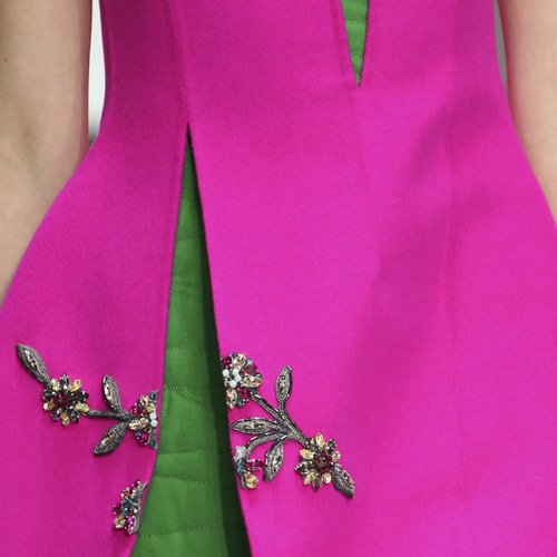 Lacing, Quilting and Tucks at Christian Dior   The Cutting Class. Christian Dior, AW14, Paris.