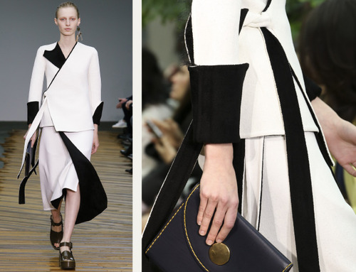 Fine Details and Contrasting Textures at Céline | The Cutting Class. Céline, AW14, Paris, Image 11.