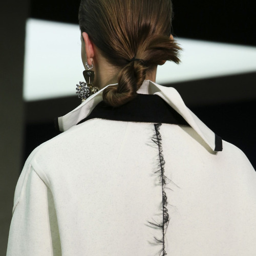 Fine Details and Contrasting Textures at Céline | The Cutting Class. Céline, AW14, Paris, Image 14.