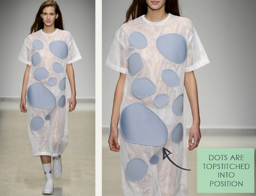 Loose Shapes and Wayward Dots at Jacquemus | The Cutting Class. Jacquemus, AW14, Paris, Image 6.