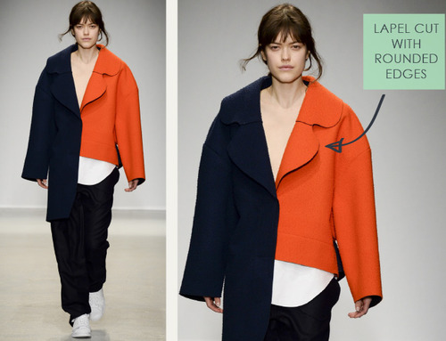Loose Shapes and Wayward Dots at Jacquemus | The Cutting Class. Jacquemus, AW14, Paris, Image 12.