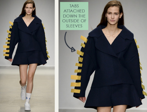 Loose Shapes and Wayward Dots at Jacquemus | The Cutting Class. Jacquemus, AW14, Paris, Image 13.