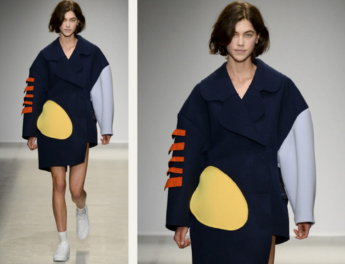 Loose Shapes and Wayward Dots at Jacquemus | The Cutting Class. Jacquemus, AW14, Paris, Image 14.