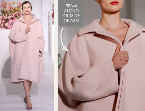 The Fullness and Shaping of Sleeves Part 3 | The Cutting Class. Jil Sander, AW12, Milan.