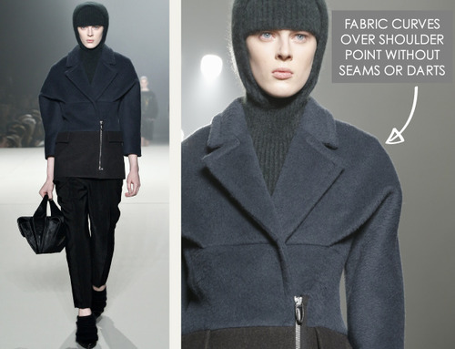 The Fullness and Shaping of Sleeves Part 3 | The Cutting Class. Alexander Wang, AW13, New York, Image 2.