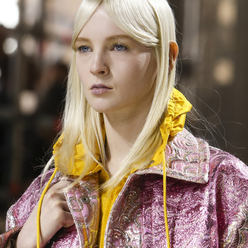 Glittery Sportswear Detailing at Miu Miu | The Cutting Class. Miu Miu, AW14, Paris.