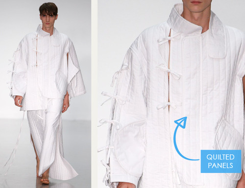 Balance, Proportion and Focus at Craig Green | The Cutting Class. Craig Green, Menswear, SS15, London, Image 1.