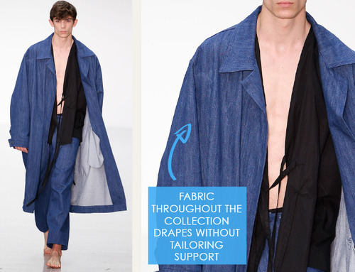 Balance, Proportion and Focus at Craig Green | The Cutting Class. Craig Green, Menswear, SS15, London, Image 14.