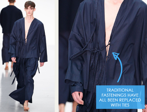 Balance, Proportion and Focus at Craig Green | The Cutting Class. Craig Green, Menswear, SS15, London, Image 16.