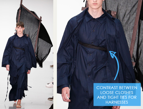 Balance, Proportion and Focus at Craig Green | The Cutting Class. Craig Green, Menswear, SS15, London, Image 17.