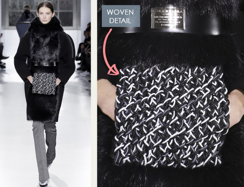 Fabrics and Hardware at Balenciaga | The Cutting Class. Balenciaga, AW14, Paris, Image 2.