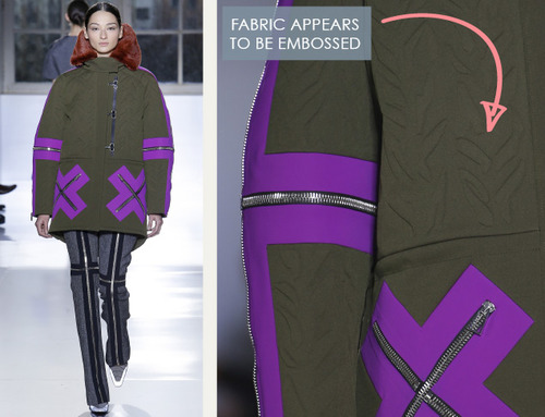 Fabrics and Hardware at Balenciaga | The Cutting Class. Balenciaga, AW14, Paris, Image 5.