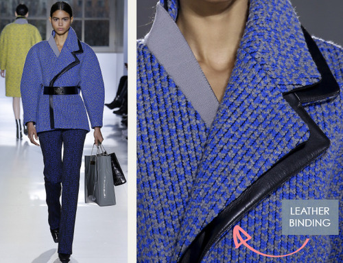 Fabrics and Hardware at Balenciaga | The Cutting Class. Balenciaga, AW14, Paris, Image 11.