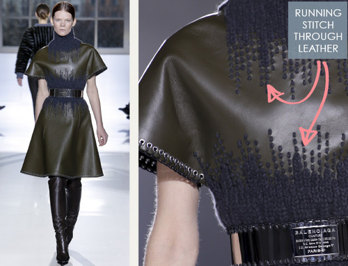 Fabrics and Hardware at Balenciaga | The Cutting Class. Balenciaga, AW14, Paris, Image 13.
