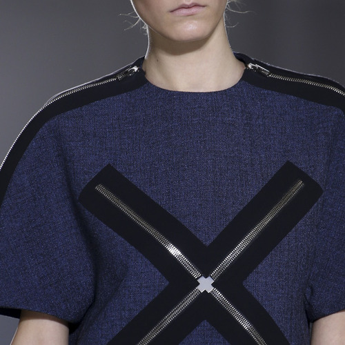 Fabrics and Hardware at Balenciaga | The Cutting Class. Balenciaga, AW14, Paris.