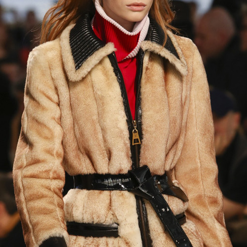 Glossary: Exposed Zipper | The Cutting Class. Louis Vuitton, AW14, Paris, Image 1.