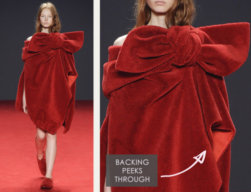 Big Red Carpet Bows at Viktor and Rolf | The Cutting Class. Viktor and Rolf, Haute Couture, AW14, Paris, Image 3.