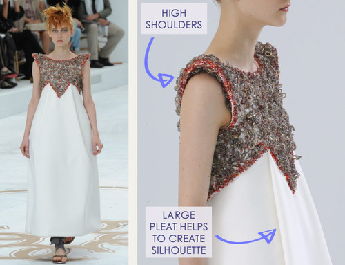 Encrusted Fabrics and Sculpted Silhouettes at Chanel | The Cutting Class. Chanel, Haute Couture, AW14, Paris, Image 34.