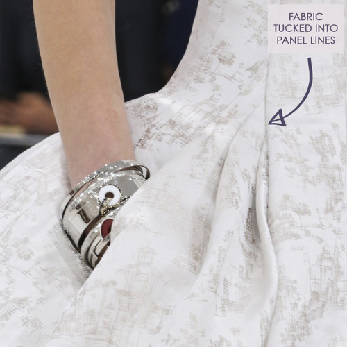 Structural Waist Shaping at Dior Couture | The Cutting Class. Christian Dior, Haute Couture, AW14, Paris, Image 2.
