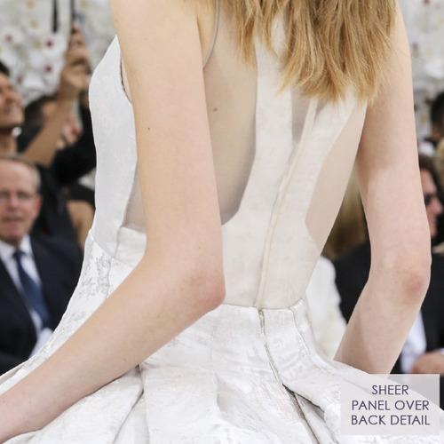 Structural Waist Shaping at Dior Couture | The Cutting Class. Christian Dior, Haute Couture, AW14, Paris, Image 3.