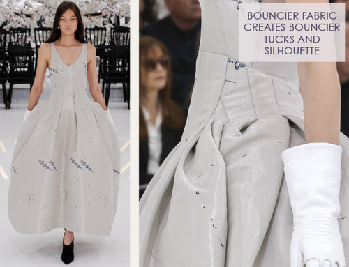 Structural Waist Shaping at Dior Couture | The Cutting Class. Christian Dior, Haute Couture, AW14, Paris, Image 11.