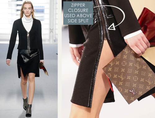 Leather and Knit Details at Louis Vuitton | The Cutting Class. Louis Vuitton, AW14, Paris, Image 18.