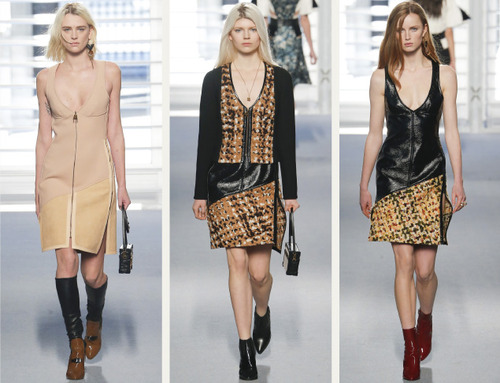 Leather and Knit Details at Louis Vuitton | The Cutting Class. Louis Vuitton, AW14, Paris, Image 21.