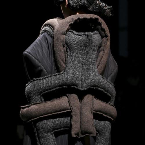 Padded Links and Knots at Comme des Garçons | The Cutting Class. Comme des Garçons, AW14, Paris, Image 3.