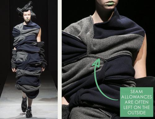 Padded Links and Knots at Comme des Garçons | The Cutting Class. Comme des Garçons, AW14, Paris, Image 6.