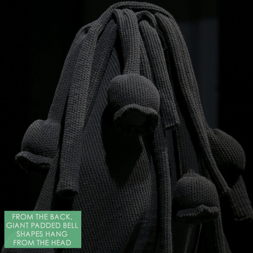 Padded Links and Knots at Comme des Garçons | The Cutting Class. Comme des Garçons, AW14, Paris, Image 13.