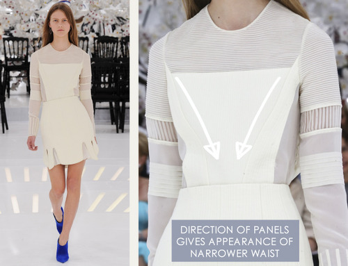 Glossary: Pintucks | The Cutting Class. Christian Dior, Haute Couture, AW14, Paris, Image 4.