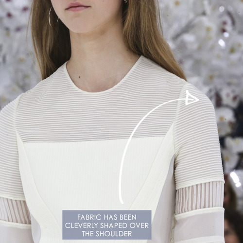 Glossary: Pintucks | The Cutting Class. Christian Dior, Haute Couture, AW14, Paris, Image 5.