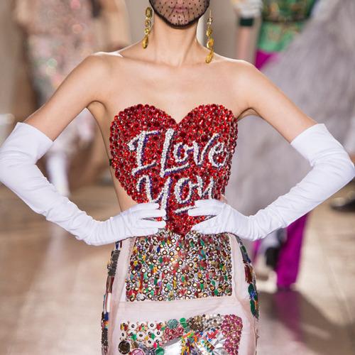 Glossary: Sweetheart Neckline | The Cutting Class. Maison Martin Margiela, Couture, AW14, Paris.