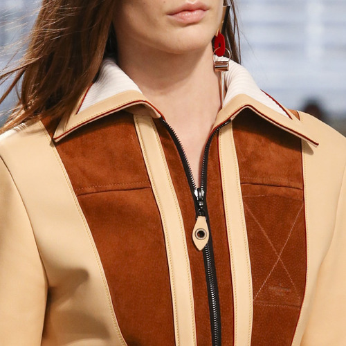 Leather and Knit Details at Louis Vuitton | The Cutting Class. Louis Vuitton, AW14, Paris. Nicolas Ghesquière