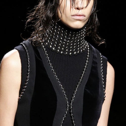 Beaded Trim at Alexander Wang | The Cutting Class. Alexander Wang, AW15, New York.
