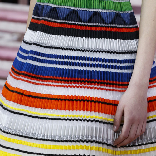 Ribboned Pleats at Dior Haute Couture | The Cutting Class. Christian Dior, Haute Couture, SS15, Paris.