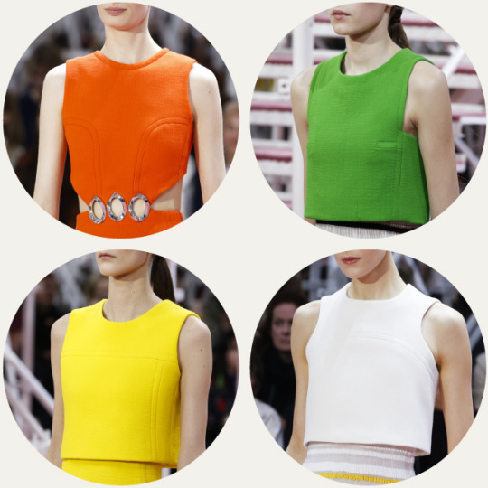 Bust Shaping with Panel Lines at Dior | The Cutting Class. Christian Dior, SS15, Haute Couture, Paris.